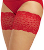 RED ROMANCE - Elastic Anti-Chafing Thigh Bands Red
