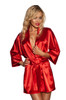 Dressing Gown Panama Red WBG