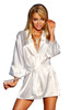 Dressing Gown Panama White