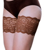 Dolce  Elastic Anti-chafing Thigh Bands Brown
