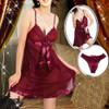 Women's Red Hot Babydolls Chemise Nightdress Plus Size