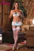 Bra, Garter Skirt & G-String #B474
