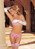 G-Belt Scallop Front With PINK