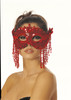 Sequin Eye Mask RED