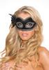 Black Velvet Eye Mask