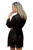 Anette Long Sleeve Sexy Dressing Gown Back