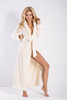 Eliza Long Dressing Gown Ecru