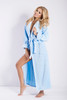 Eliza Long Dressing Gown Blue