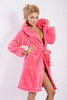 Diana Hooded Dressing Gown Coral