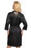 Irall Mallory Dressing Gown Black Back