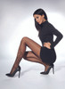 Arlette Patterned Tights Knees Extra