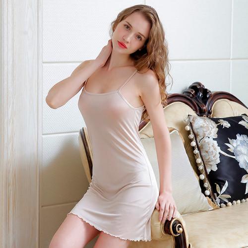 Silk Full Slips long