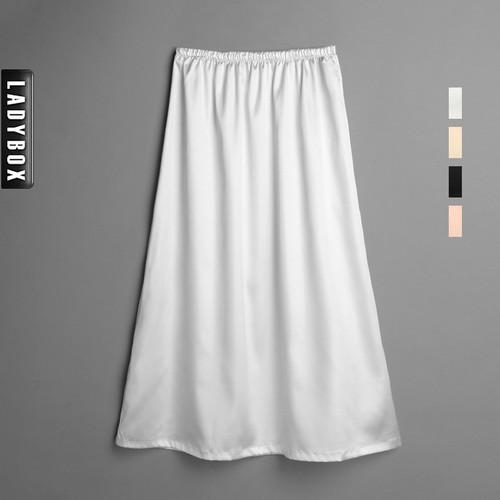 Faux Silk Satin Ultra Long Slip