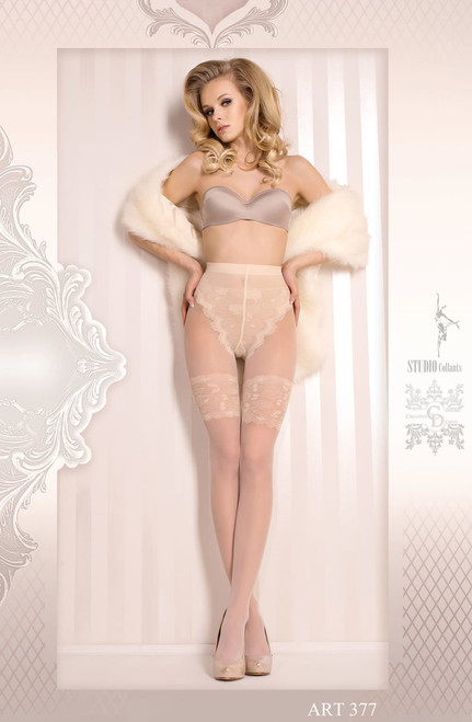 BALLERINA Bridal Tights Ivory