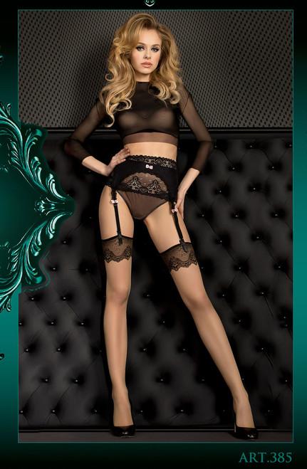BALLERINA Stockings Skin Front