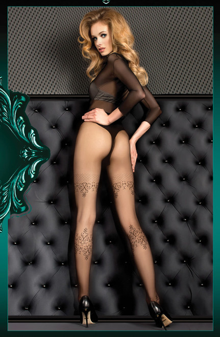 Ballerina Tights Nero (Black) Back