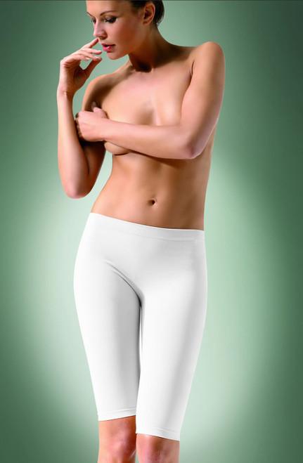 Short Infused Shaping Leggings 1 White