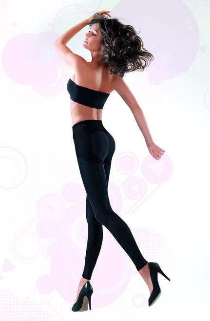 Soft Microfibre Shaping Leggings1