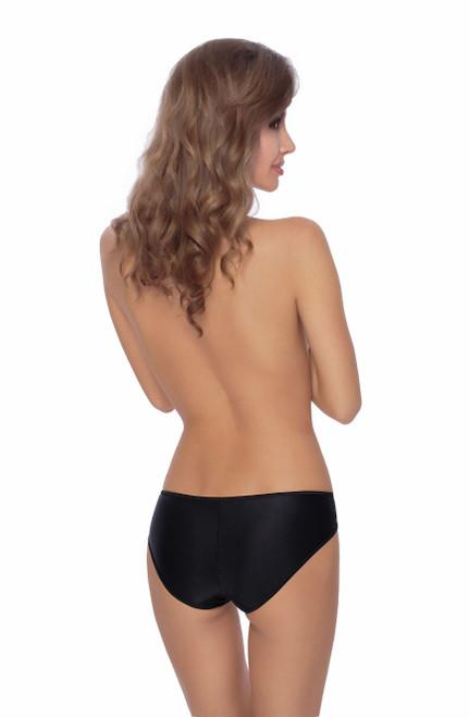 Roza Ambre Brief Black Back