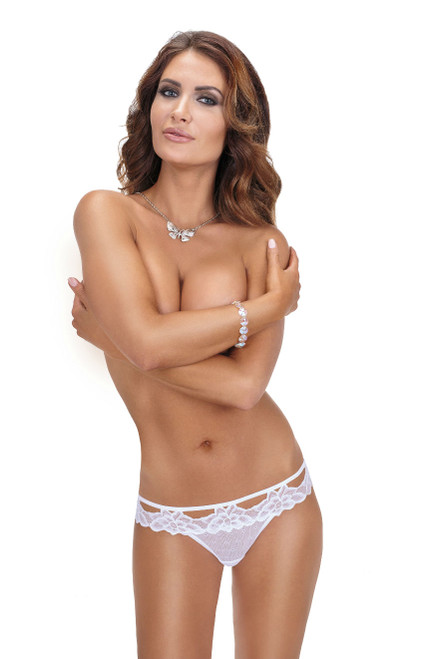 Roza Falka Brief White