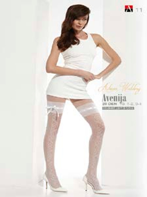 Avenija Patterned Hold Ups