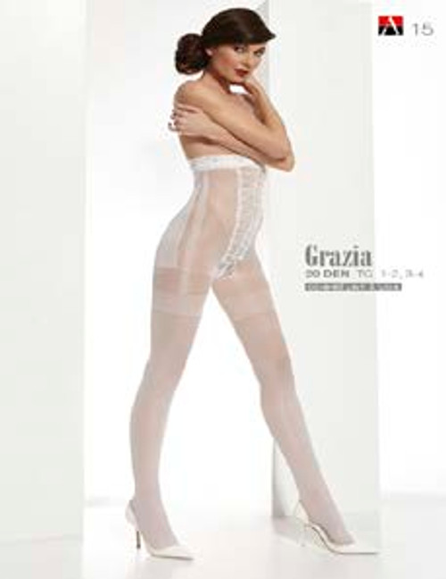 Grazia Patterned Tights