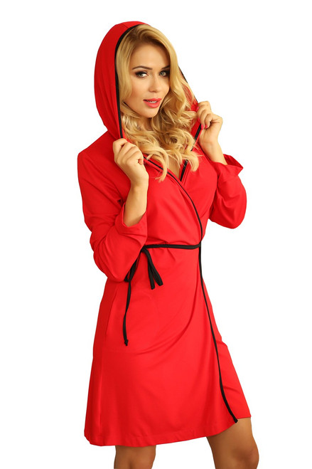 Dressing Gown Alegranza  Red 2Xl