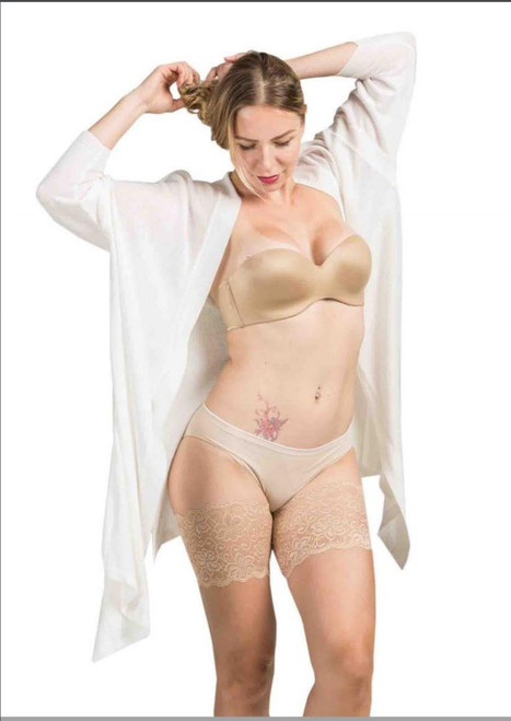 Dolce  Elastic Anti-chafing Thigh Bands  Beige