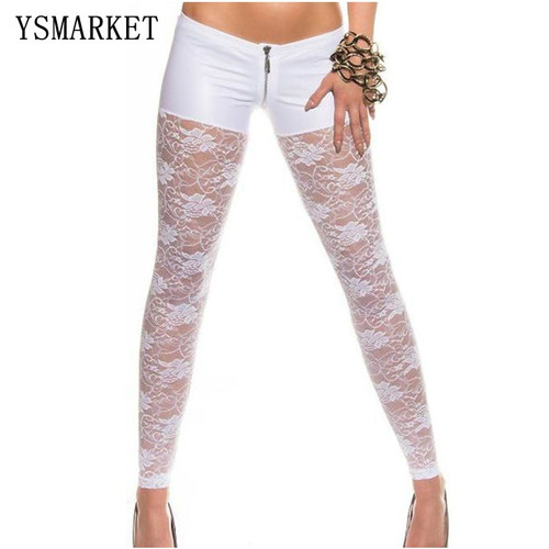 Low Waist Sexy  Lace Leggings