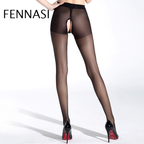 Sexy Crotchless Pantyhose