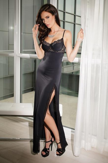 Micorbifer Black Gown