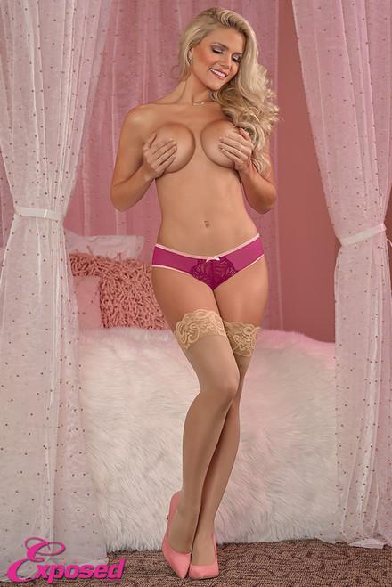 Crotchless Panty #M137  XL CRA