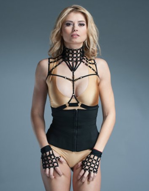 Strappy Lingerie Neck Harness Collar