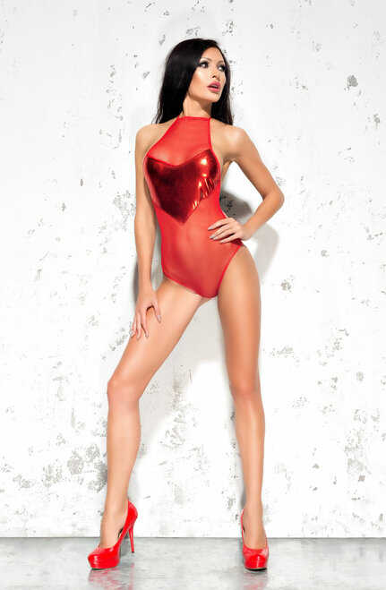Emma Ultra Body Lingerie Red Front