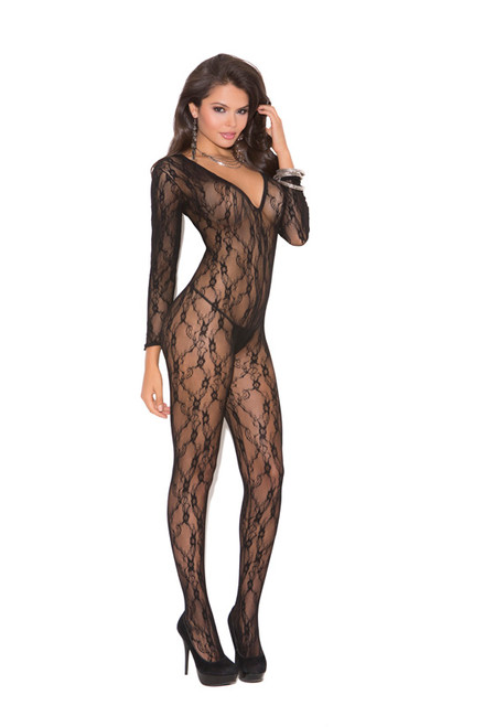 Sexy Open Crotch Bodystocking