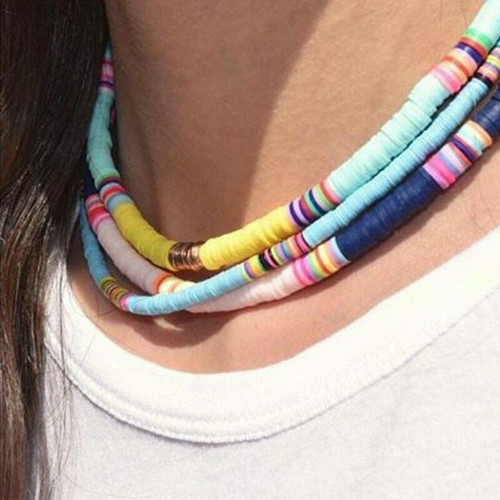 Surfer Collar Beads Choker 1