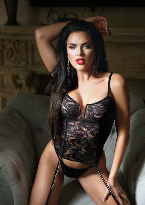 Bustier & Panty Set Front
