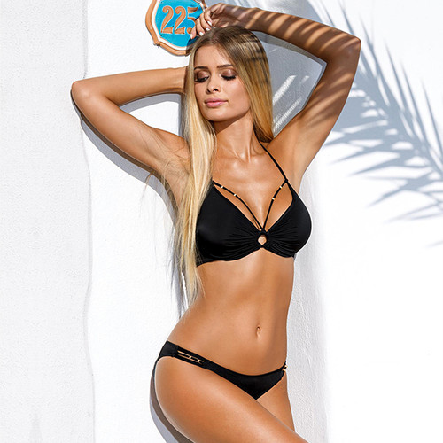 Bandage Bikini Push Up Bra