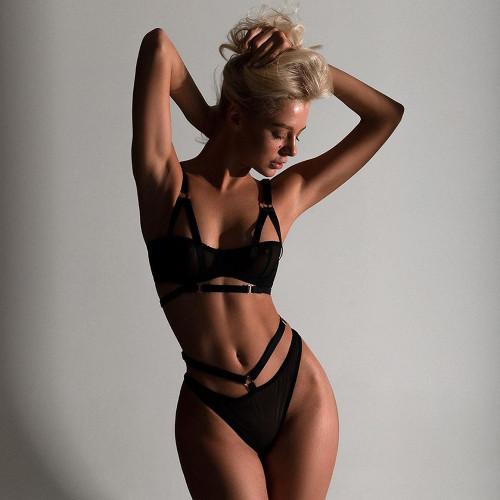 Sexy Lace Bra Lingerie Set 7