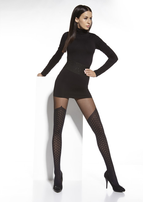 Nonna Patterned Tights Front