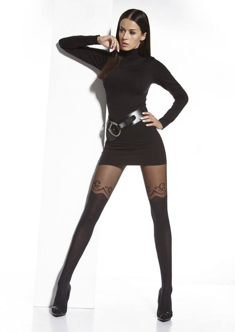 Colette  Patterned Tights Standing