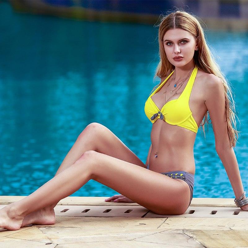 4a07322dec11a Sexy Bikini Push Up Retro Plus Size Bikini| Lingerie By Jean Lesley