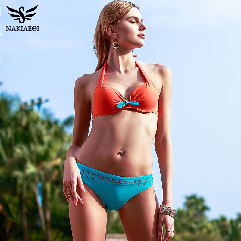 b80cfcb560 ... Retro Vintage Bikini Set Plus Size Swimwear ...