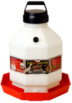 Little Giant 5 Gallon Plastic Poultry Waterer