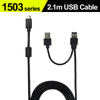 USB-A to USB-C power and touch signal cable(2.1m)