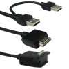 HDMI-A&USB-A to dock port cable(1.2m) **HDMI & USB 2 in 1 Cable**