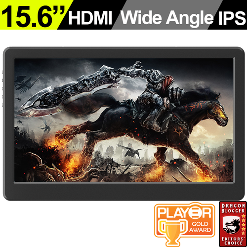 On-Lap 1503H High Brightness Portable Monitor with Rear Port
