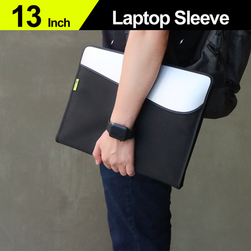 """13"""" Double-Layer Protective Laptop/ On-Lap Monitor Sleeve Bag (for MacBook)"""