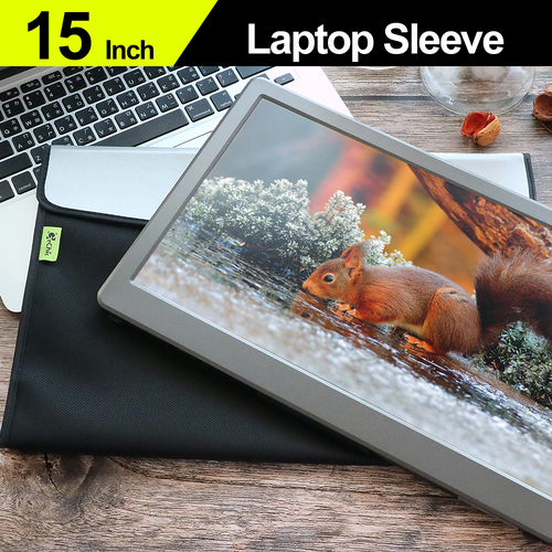 """15"""" One-Layer Protective Sleeve / Laptop Bag"""