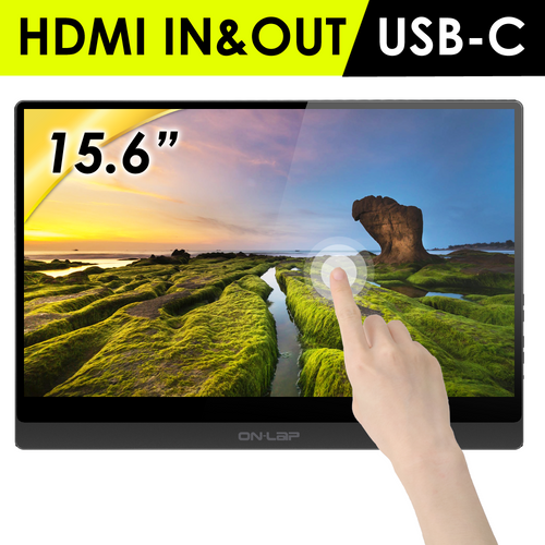 On-Lap M505T Portable Touch Monitor
